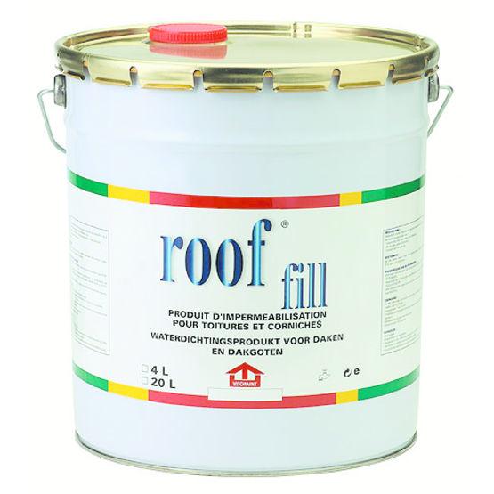 Imperméabilisation En Pâte Pour Toitures Terrasses | Rooffill