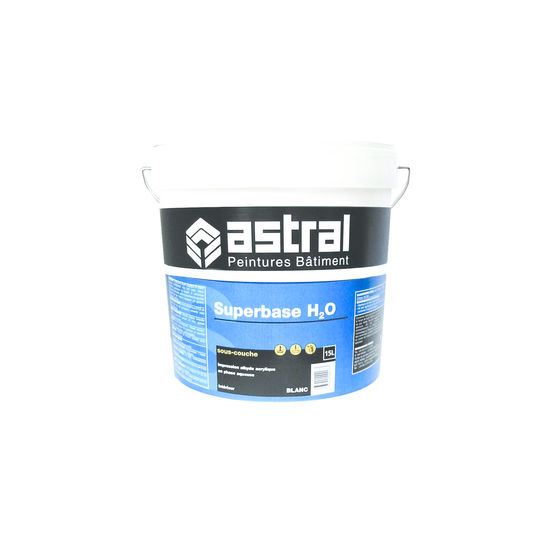 Impression acrylique et alkyde pour int rieur superbase - Peinture acrylique pour mur interieur ...