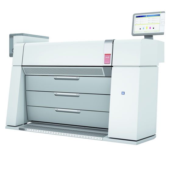Imprimante couleur grand format pour les gros volumes de production | Canon Océ ColorWave 910