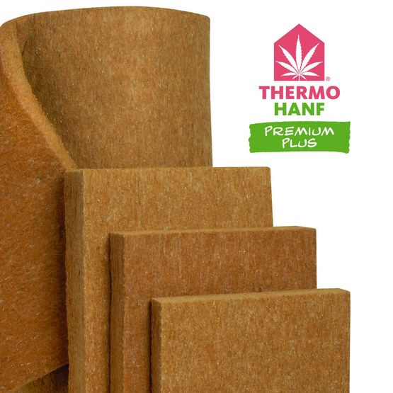 Isolant en fibres de chanvre 100% recyclable | Thermo Chanvre Premium Plus