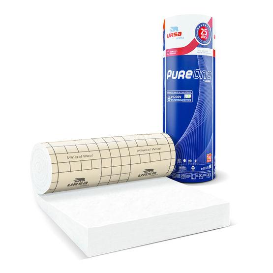 isolant en laine min rale blanche formul sans formald hyde pour combles pureone 40 rp ursa. Black Bedroom Furniture Sets. Home Design Ideas