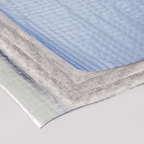 isolant r flecteur certifi avec pare vapeur pour l iti des murs et toitures top combles iso. Black Bedroom Furniture Sets. Home Design Ideas