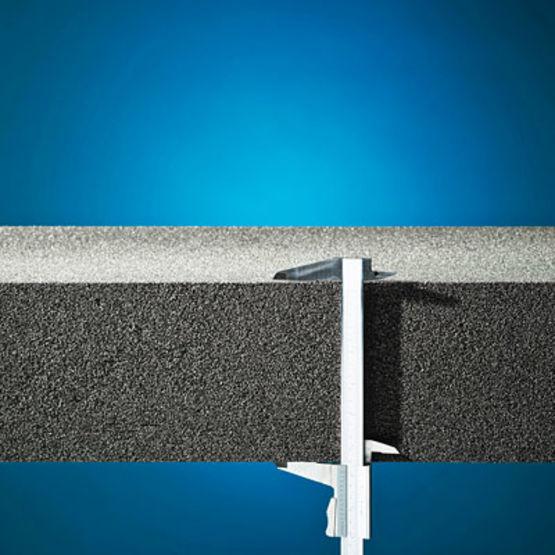 Isolant thermique en verre cellulaire forme de pente int gr e foamglas tapered ready block - Coefficient thermique laine de verre ...