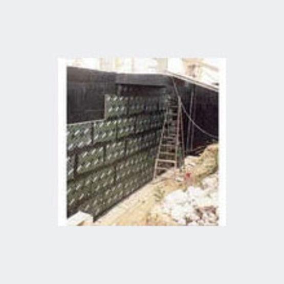 isolation par l 39 ext rieur des murs enterr s pittsburgh corning. Black Bedroom Furniture Sets. Home Design Ideas