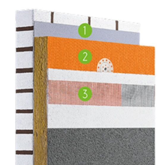 isolation pour l ext rieur en laine de roche pour teintes. Black Bedroom Furniture Sets. Home Design Ideas