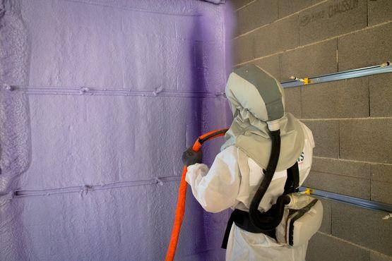 Isolation thermique des murs par polyur thane projet mirbat walltite fr001 syneris - Isolation thermique des murs ...