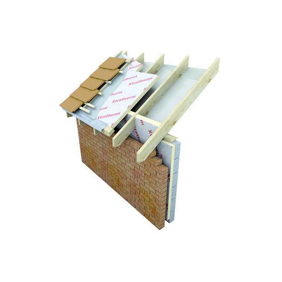 isolation thermique en pir pour toiture inclin e xt pr. Black Bedroom Furniture Sets. Home Design Ideas