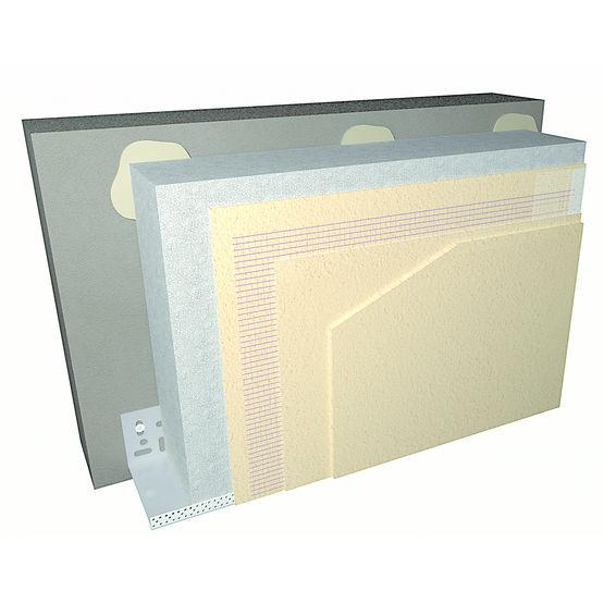 isolation thermique par l 39 ext rieur avec polystyr ne et enduit chaux a rienne projet weber. Black Bedroom Furniture Sets. Home Design Ideas