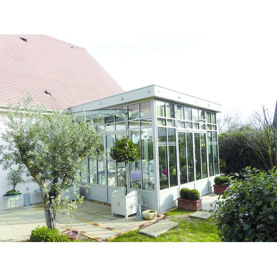 Jardin d 39 hiver structure acier authentic authentic kdi - Le jardin d hiver ...