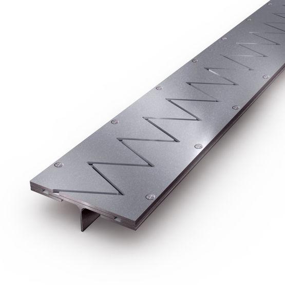 joint de dilatation de sol en acier pour application industrielle jdh gv2 veda france. Black Bedroom Furniture Sets. Home Design Ideas