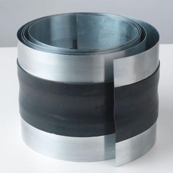 Joint de dilatation en zinc et n opr ne pour goutti res et for Prix des gouttieres en zinc