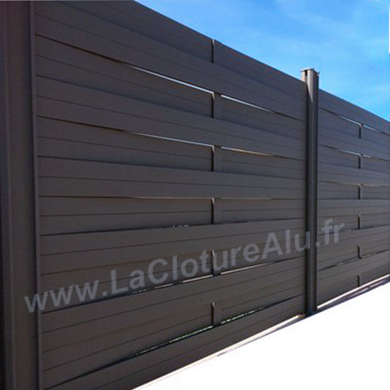 gamme traditionnelle kit de cl ture aluminium tress e batiproduits. Black Bedroom Furniture Sets. Home Design Ideas
