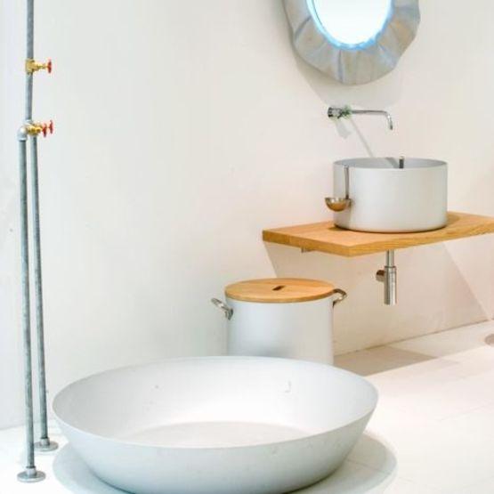 kit de lavabo plan tabouret miroir et douche chef collection nito sopha industries. Black Bedroom Furniture Sets. Home Design Ideas