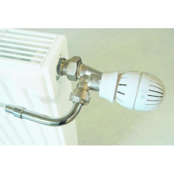 Kits de branchement bitubes pour radiateurs giacomini - Branchement radiateur eau chaude ...