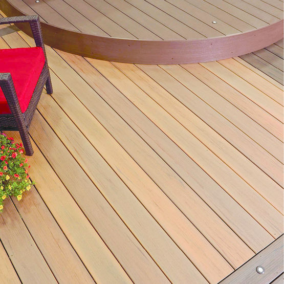 Lame De Terrasse En Bois Composite  Finition Enrobe  Earthwood
