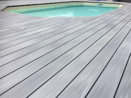 lame de terrasse en bois composite coextrud en 6 coloris et 2 largeurs lame atmosph re