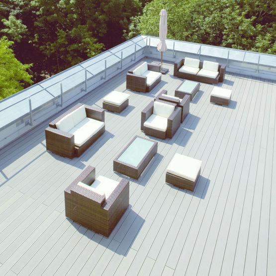 lame de terrasse et nez de marche assortis en mat riau. Black Bedroom Furniture Sets. Home Design Ideas