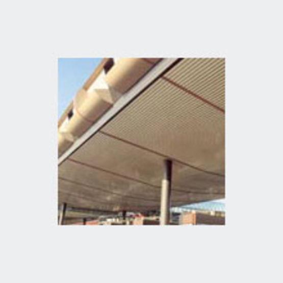 Nouveau Lames aluminium à bords arrondis pour intérieur ou extérieur | 85R ND-56