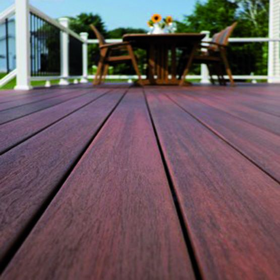 Lames De Terrasse En Composite Coextrud Aspect Bois  Fiberon