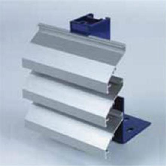 Lames filantes en aluminium acier galvanis ou inox linius renson for Cloture acier ou aluminium