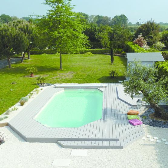 Lattes bois pour terrasse exterieure id e - Peinture pour terrasse bois ...