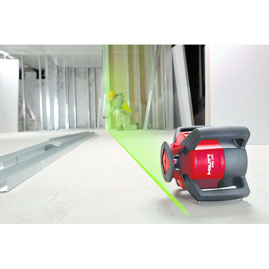 Laser rotatif pour utilisation int rieure pri 36 hilti - Laser rotatif hilti ...