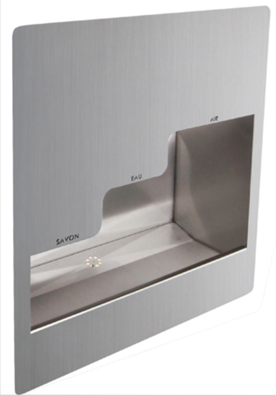 lavabo antivandalisme mural encastr inox 3 en 1 combin encastr inox lm 239 supratech. Black Bedroom Furniture Sets. Home Design Ideas