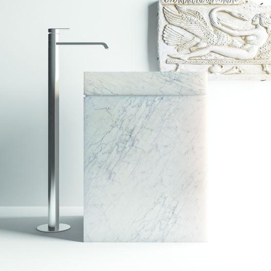 lavabo en marbre sur socle sopha industries. Black Bedroom Furniture Sets. Home Design Ideas