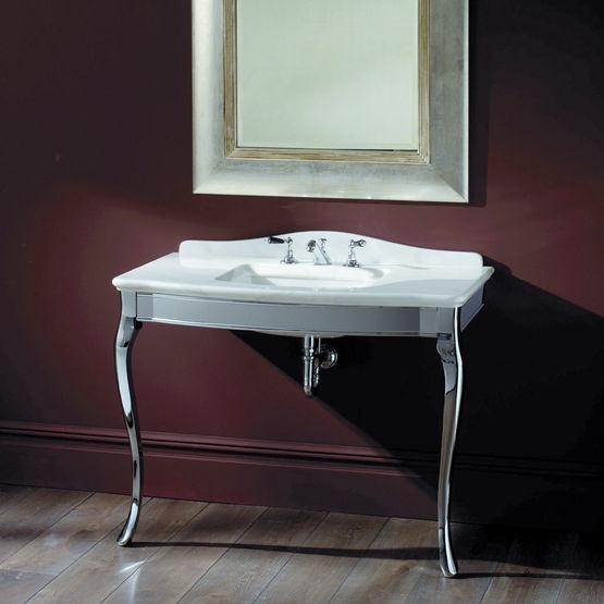 lavabo sur console argent e de style classique console jacqueline devon devon dex spa. Black Bedroom Furniture Sets. Home Design Ideas