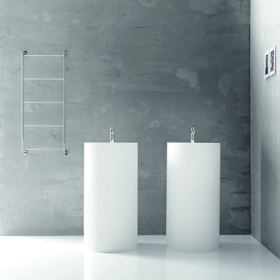 Lavabo sur pied en marbre composite | Momon collection Linéabeta