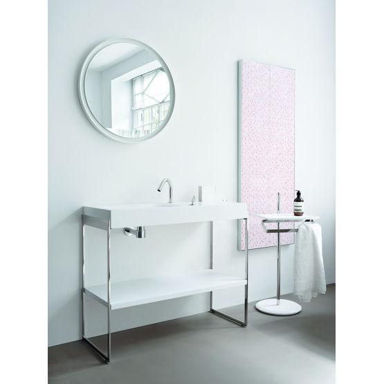 lavabo suspendu ou sur pied vasque asym trique agape. Black Bedroom Furniture Sets. Home Design Ideas