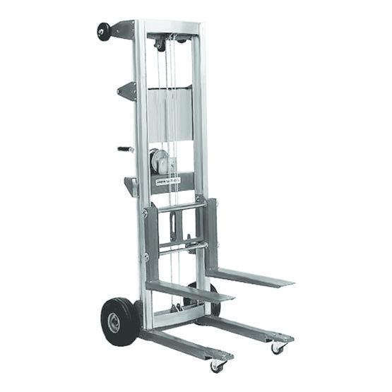 L ve mat riaux vertical pour charge jusqu 39 180 kg for Location monte meuble kiloutou