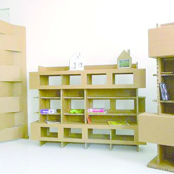 Ligne De Meubles En Carton Recyclable Ecopan Design Tonelli