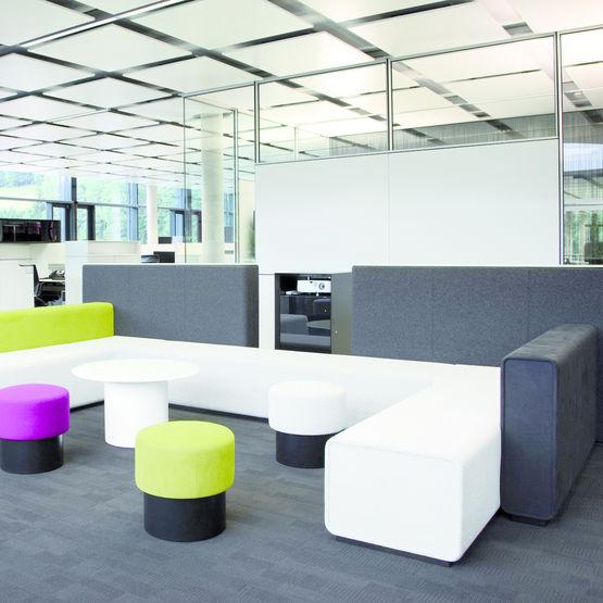 ligne de mobilier modulaire de bureau parcs bene ag. Black Bedroom Furniture Sets. Home Design Ideas