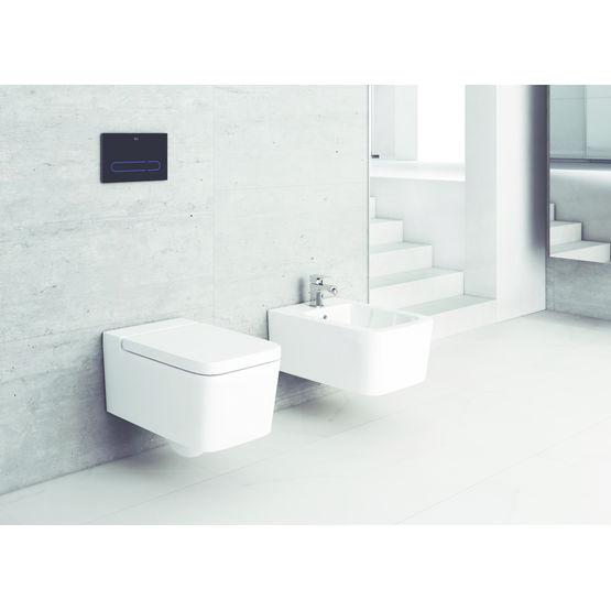 ligne de sanitaires en c ramique fine avec mobilier coordonn inspira roca. Black Bedroom Furniture Sets. Home Design Ideas