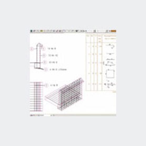 Logiciel cao de coffrage et ferraillage allplan - Calcul quantite beton ...