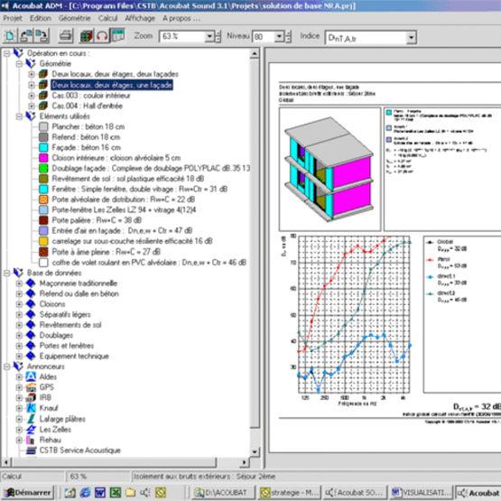 Logiciel d 39 aide la conception acoustique des b timents for Logiciel de conception