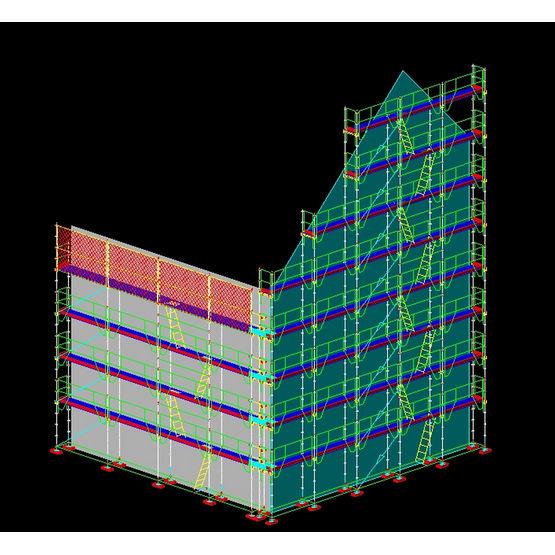 logiciel d 39 aide la conception d 39 chafaudage 3d windec layher. Black Bedroom Furniture Sets. Home Design Ideas