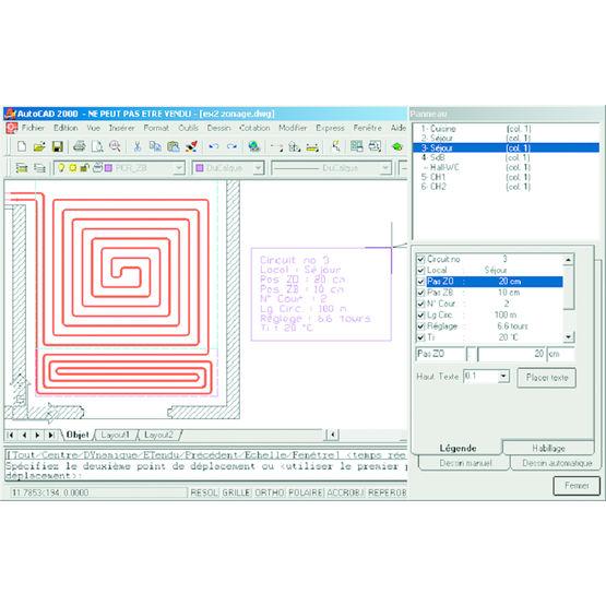 Logiciel de calcul de plancher chauffant fisa - Logiciel calcul plomberie ...