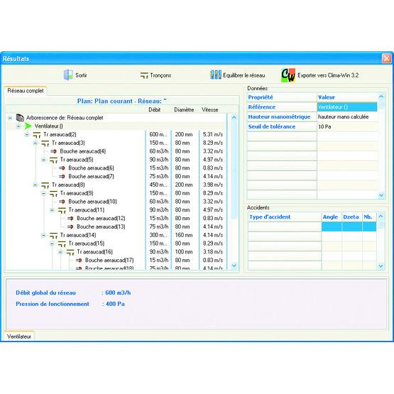 Logiciel de conception de r seaux d 39 air compatible autocad for Logiciel de conception
