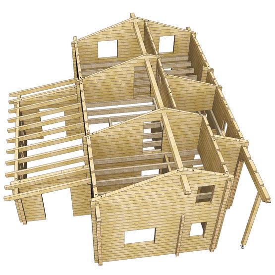 Logiciel De Construction De Maisons Pr Fabriqu Es En Madriers