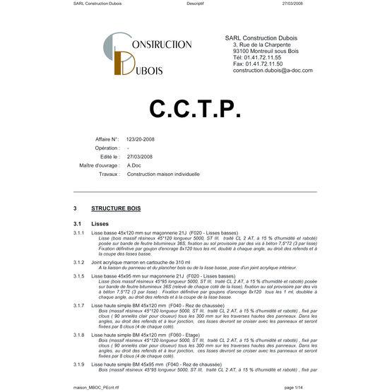 Logiciel De Cration De Devis Et Descriptifs  Cadsoft Devix  ADoc