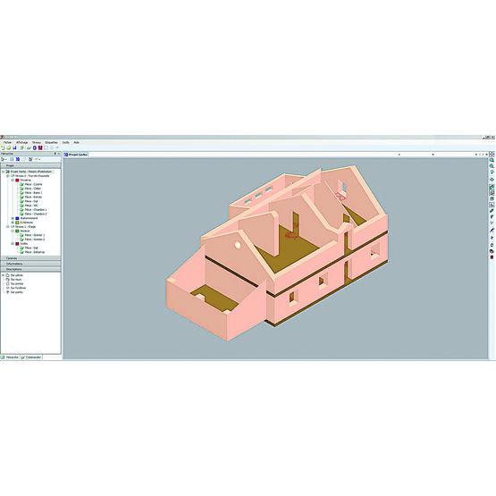 logiciel de relev 3d fonctionnant avec laserm tre viz 39 all 3d all systems. Black Bedroom Furniture Sets. Home Design Ideas