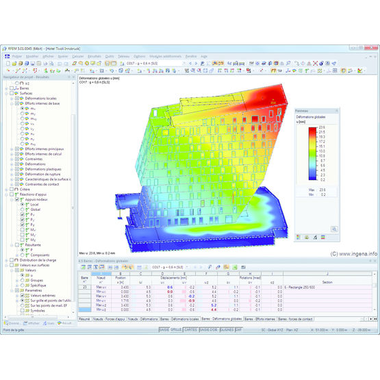 Logiciel volutif d analyse 3d de structures en g nie for Logiciel de construction 3d