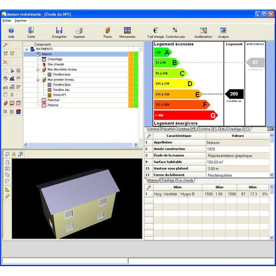 logiciel pour le diagnostic de performance nerg tique eco diag bbs slama. Black Bedroom Furniture Sets. Home Design Ideas