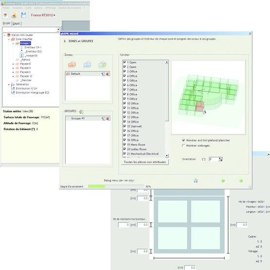 logiciel pour simulations thermiques de b timents lesosai std tarasoft lesosai. Black Bedroom Furniture Sets. Home Design Ideas