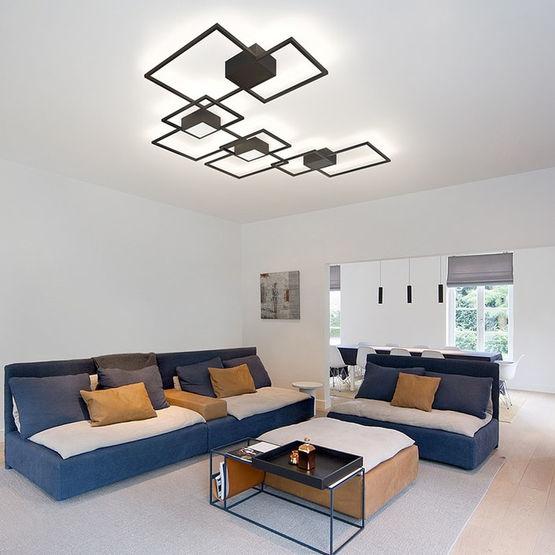 Luminaire contemporain en aluminium
