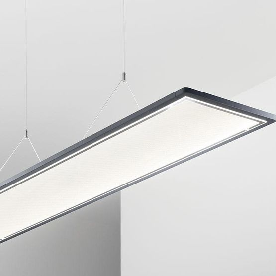 luminaire suspendu lateralo plus led trilux. Black Bedroom Furniture Sets. Home Design Ideas