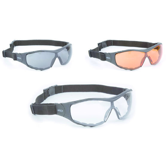 Lunette de protection contre les impacts