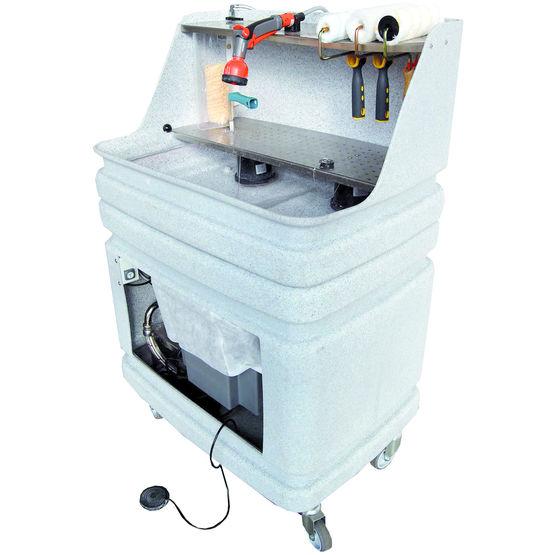 machine de nettoyage l 39 eau des outils du peintre aqua. Black Bedroom Furniture Sets. Home Design Ideas